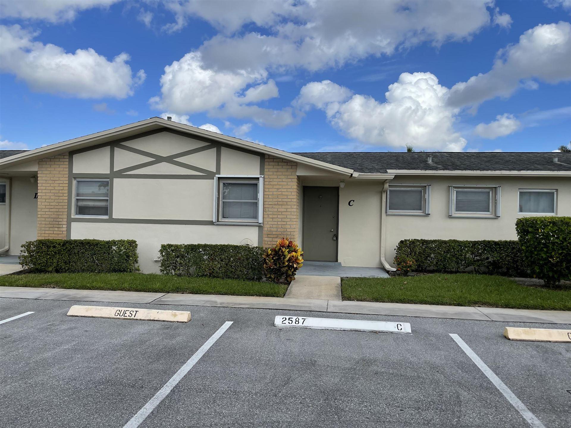 2587 W Emory Drive #C, West Palm Beach, FL 33415 - #: RX-10751663