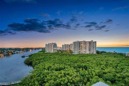 Photo of 3912 S Ocean Boulevard #1405, Highland Beach, FL 33487 (MLS # RX-10633664)