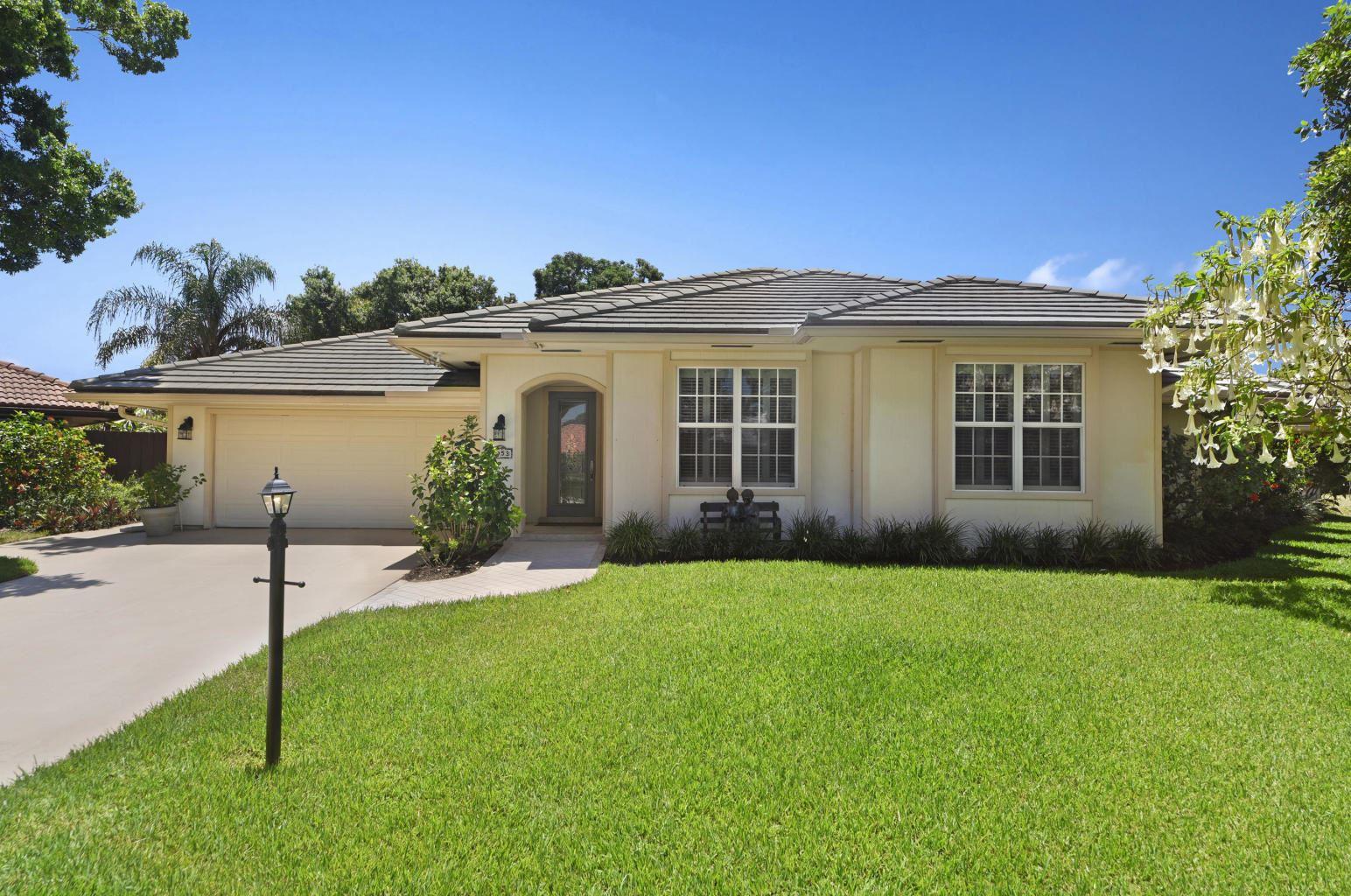 1053 Shady Lakes Circle S, Palm Beach Gardens, FL 33418 - #: RX-10660664