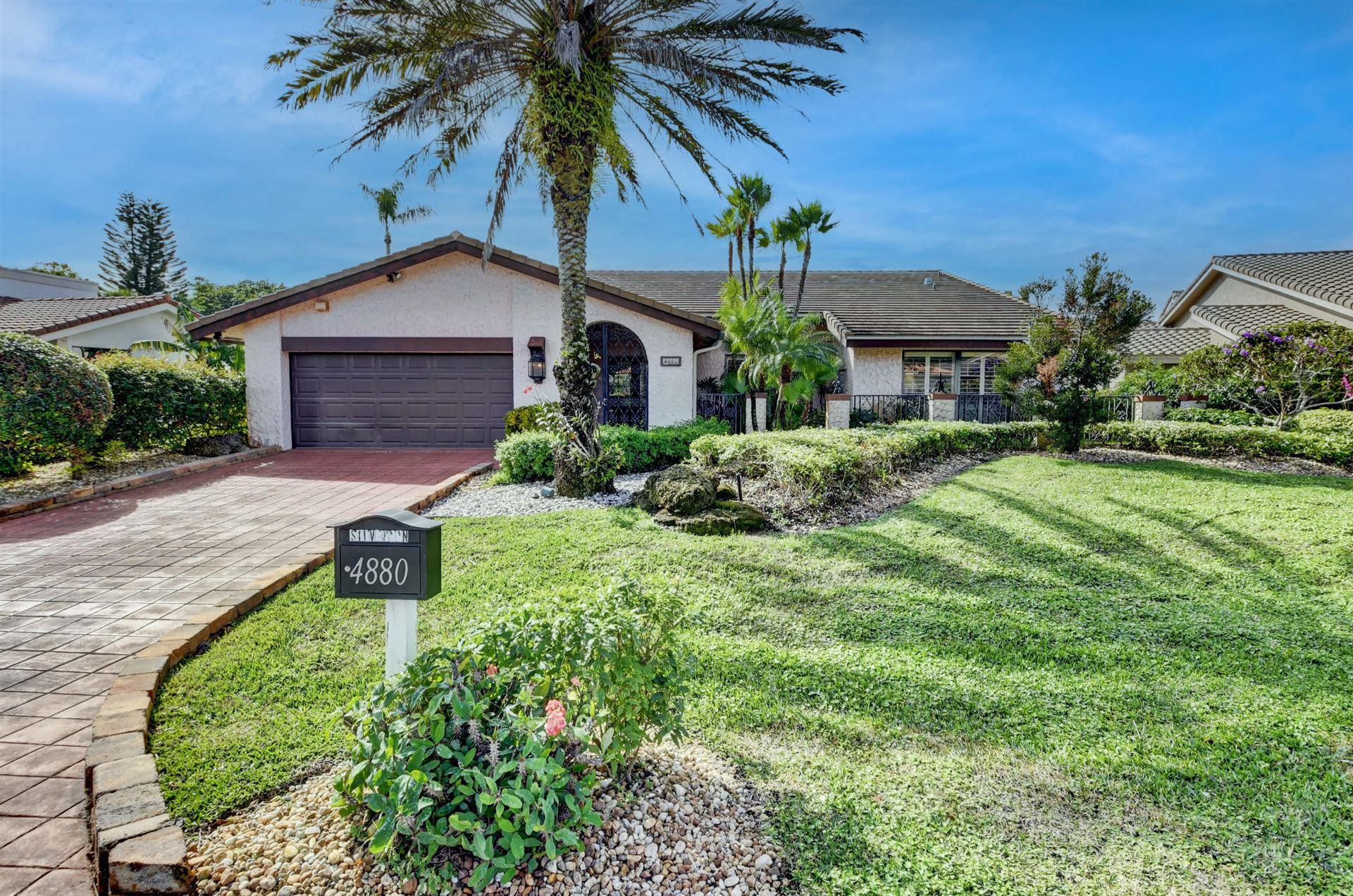 4880 Pineview Circle, Delray Beach, FL 33445 - #: RX-10684665