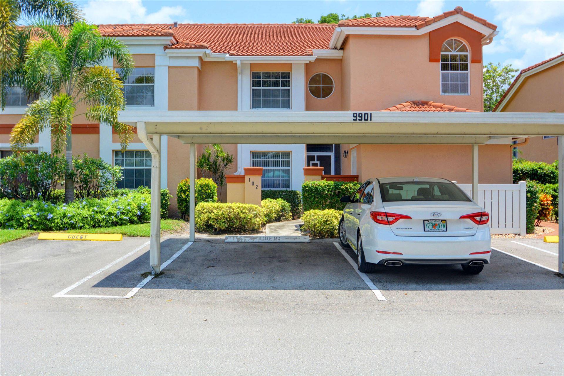 Photo of 9901 Seacrest Circle #102, Boynton Beach, FL 33437 (MLS # RX-10733666)