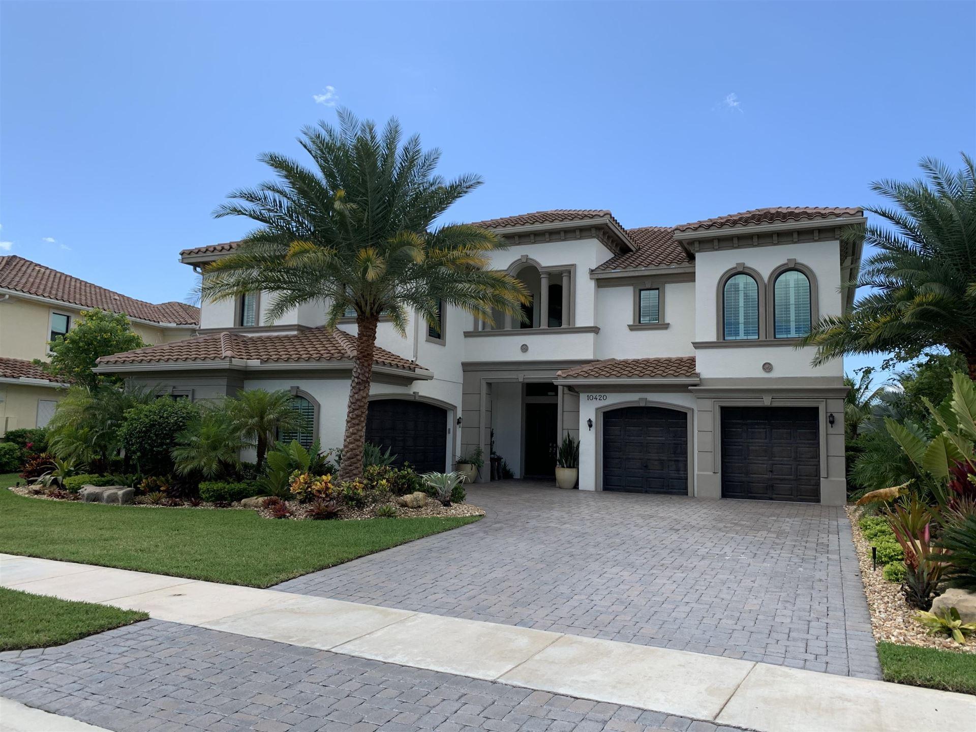Photo of 10420 S Barnsley Drive, Parkland, FL 33076 (MLS # RX-10662674)