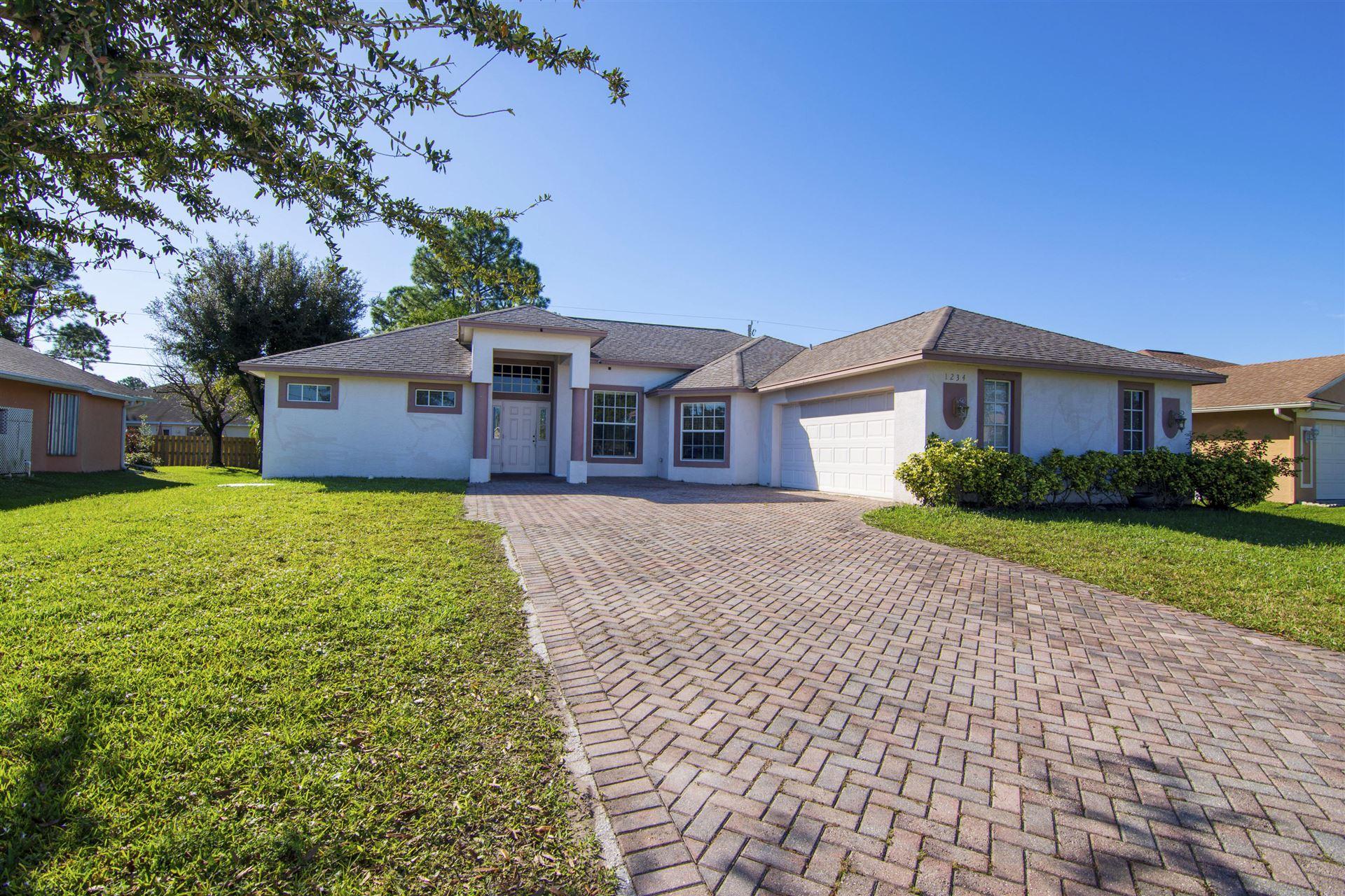 1234 SW San Esteban Avenue, Port Saint Lucie, FL 34953 - #: RX-10671674