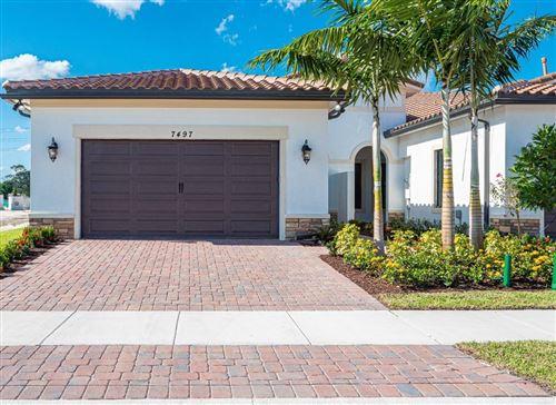 Photo of 7497 S Blue Spring Drive, Parkland, FL 33067 (MLS # RX-10632677)