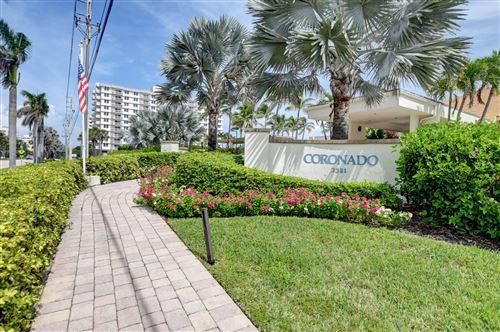 Photo of 3420 S Ocean Boulevard #3y, Highland Beach, FL 33487 (MLS # RX-10752677)