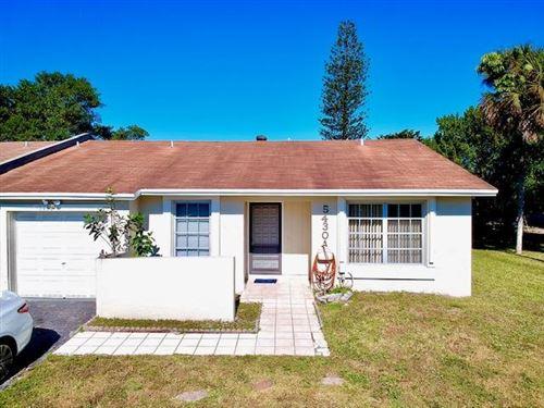 Photo of 5430 Lakewood Cr #A, Margate, FL 33063 (MLS # RX-10683679)