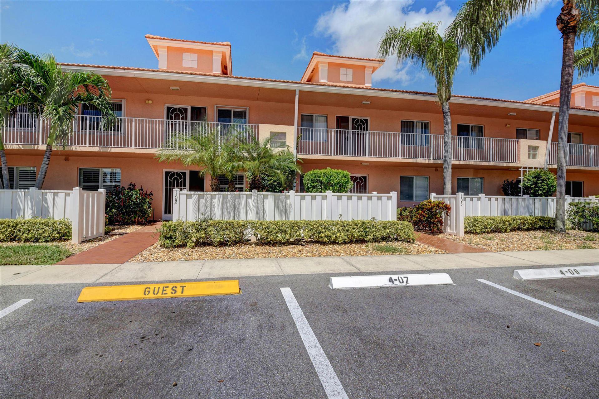 5951 Regal Glen Drive #203, Boynton Beach, FL 33437 - #: RX-10655679