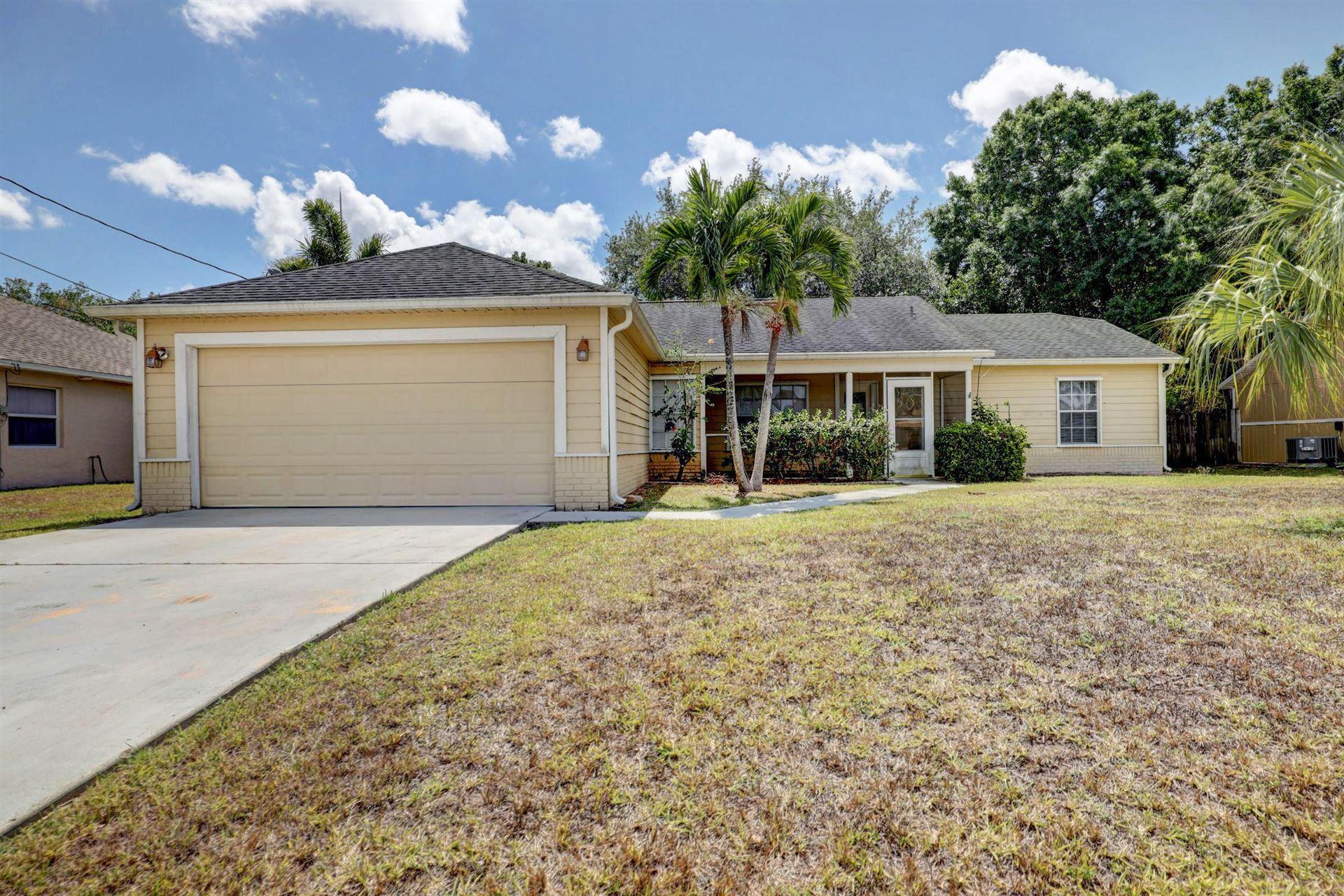 1626 SW Ruiz Terrace, Port Saint Lucie, FL 34953 - #: RX-10615680