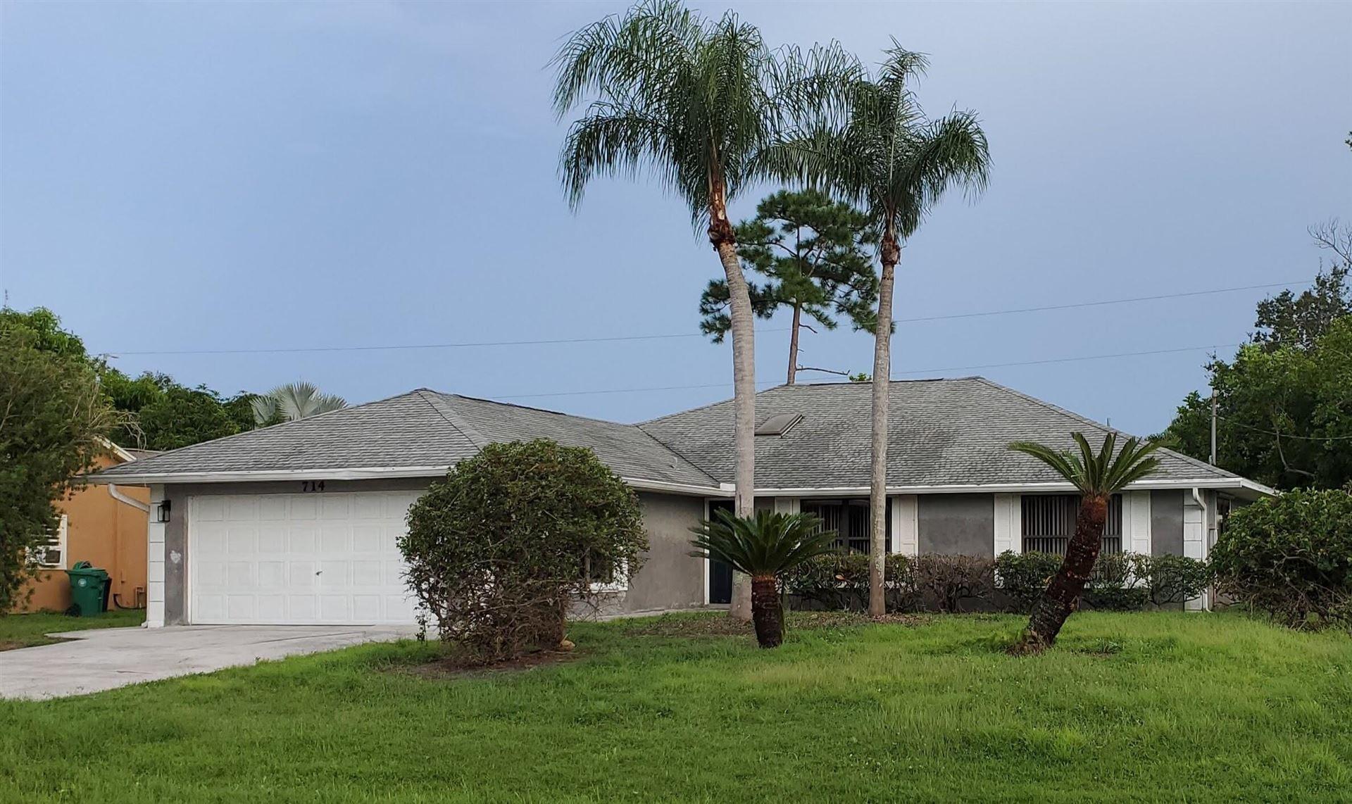 714 SE Albatross Avenue, Port Saint Lucie, FL 34983 - #: RX-10744680