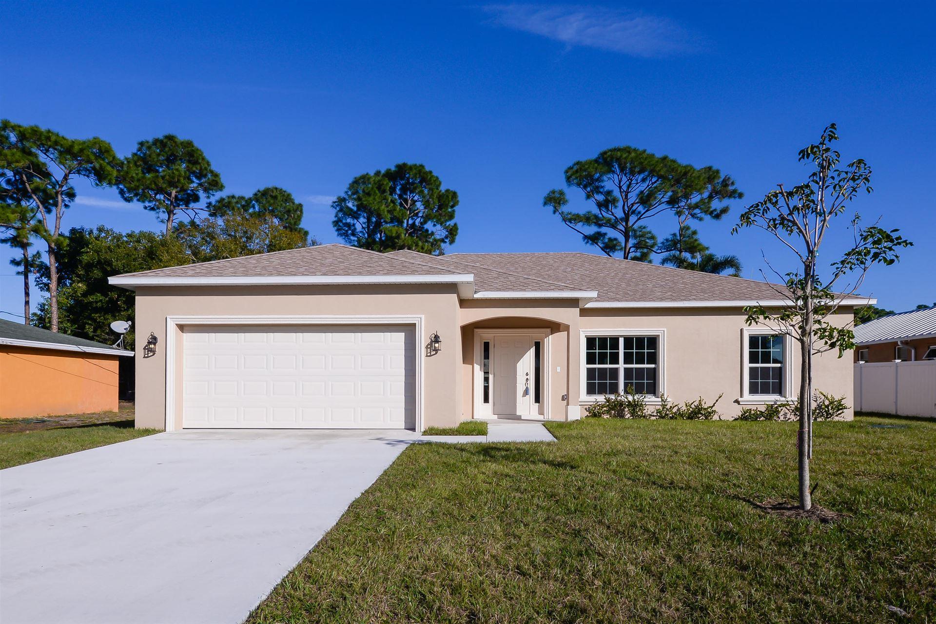 231 SW Elderberry Drive, Port Saint Lucie, FL 34953 - #: RX-10657681