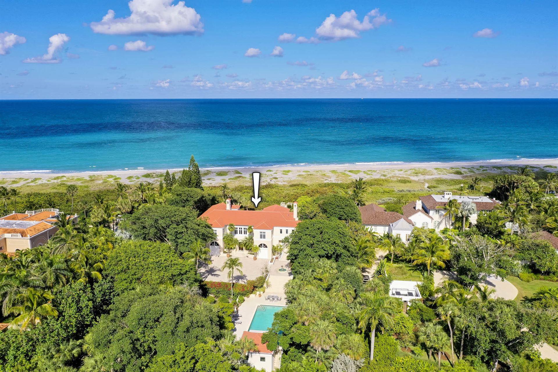 Photo of 515 S Beach Road, Hobe Sound, FL 33455 (MLS # RX-10707681)