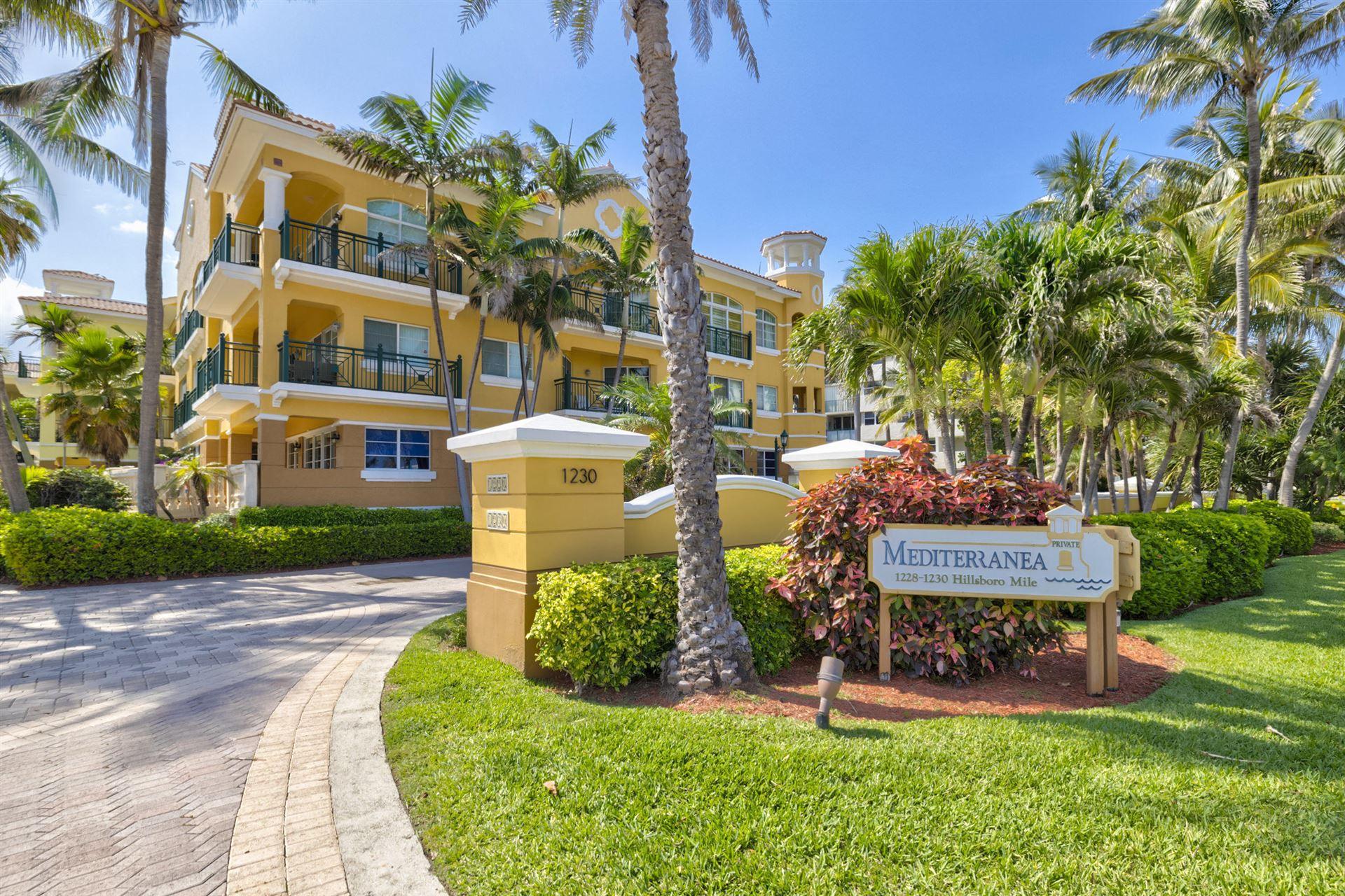 1228 Hillsboro Mile #302, Hillsboro Beach, FL 33062 - #: RX-10710681