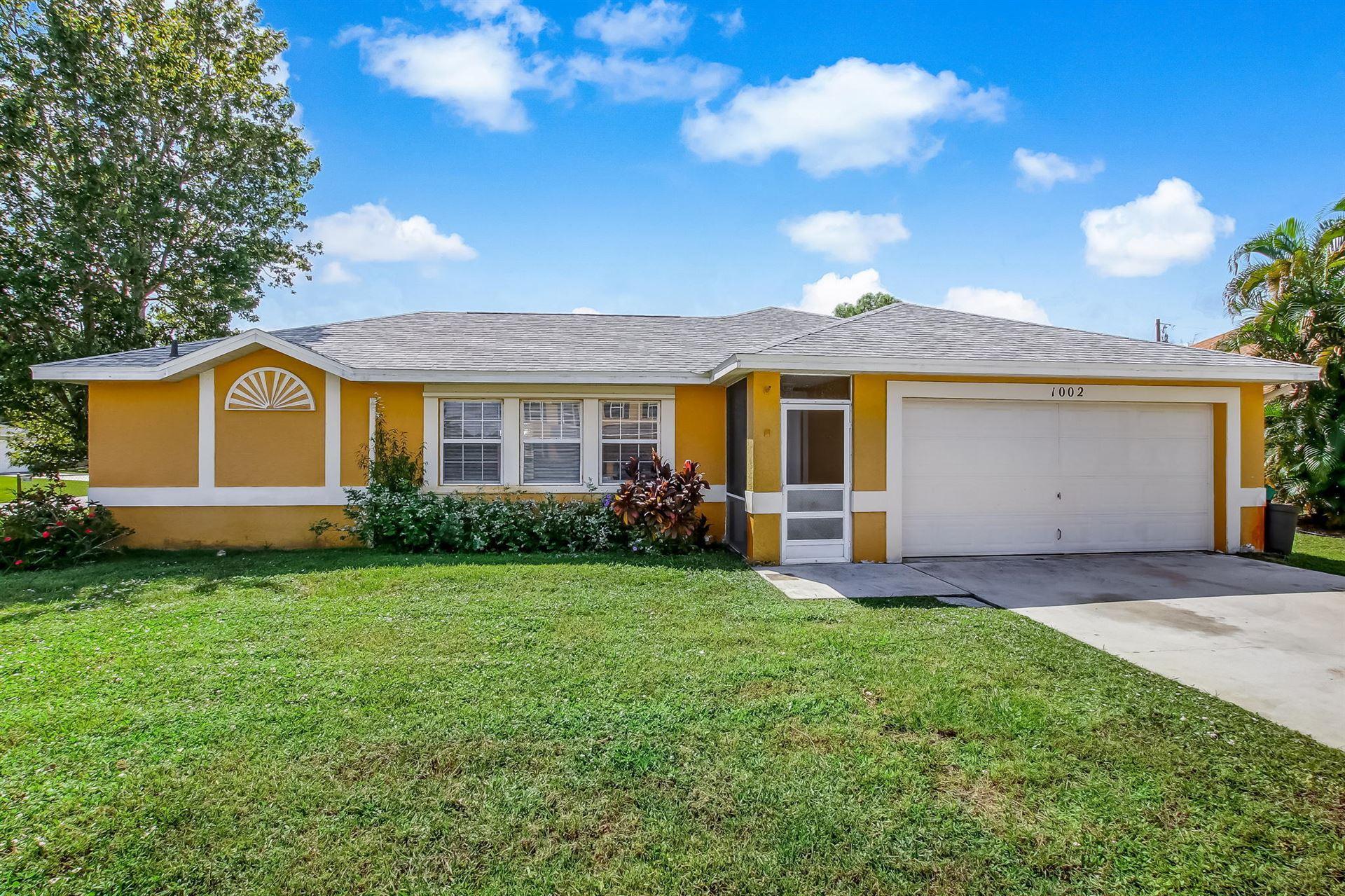 1002 SW Charcoal Avenue, Port Saint Lucie, FL 34953 - MLS#: RX-10728682