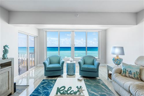 Photo of 2909 S Ocean Boulevard #4c4, Highland Beach, FL 33487 (MLS # RX-10619683)