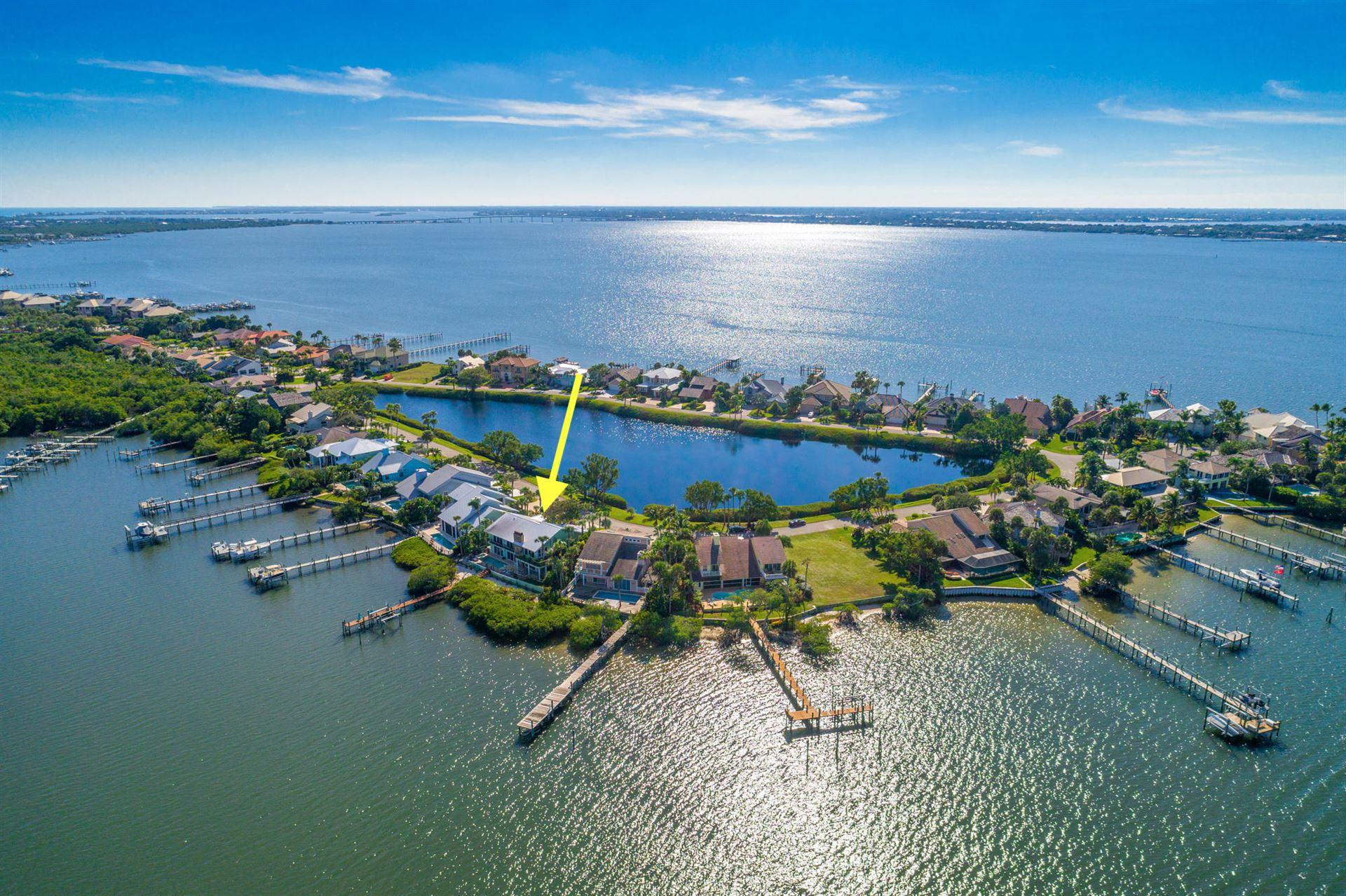 4040 NE Joes Point Road, Stuart, FL 34996 - #: RX-10730683