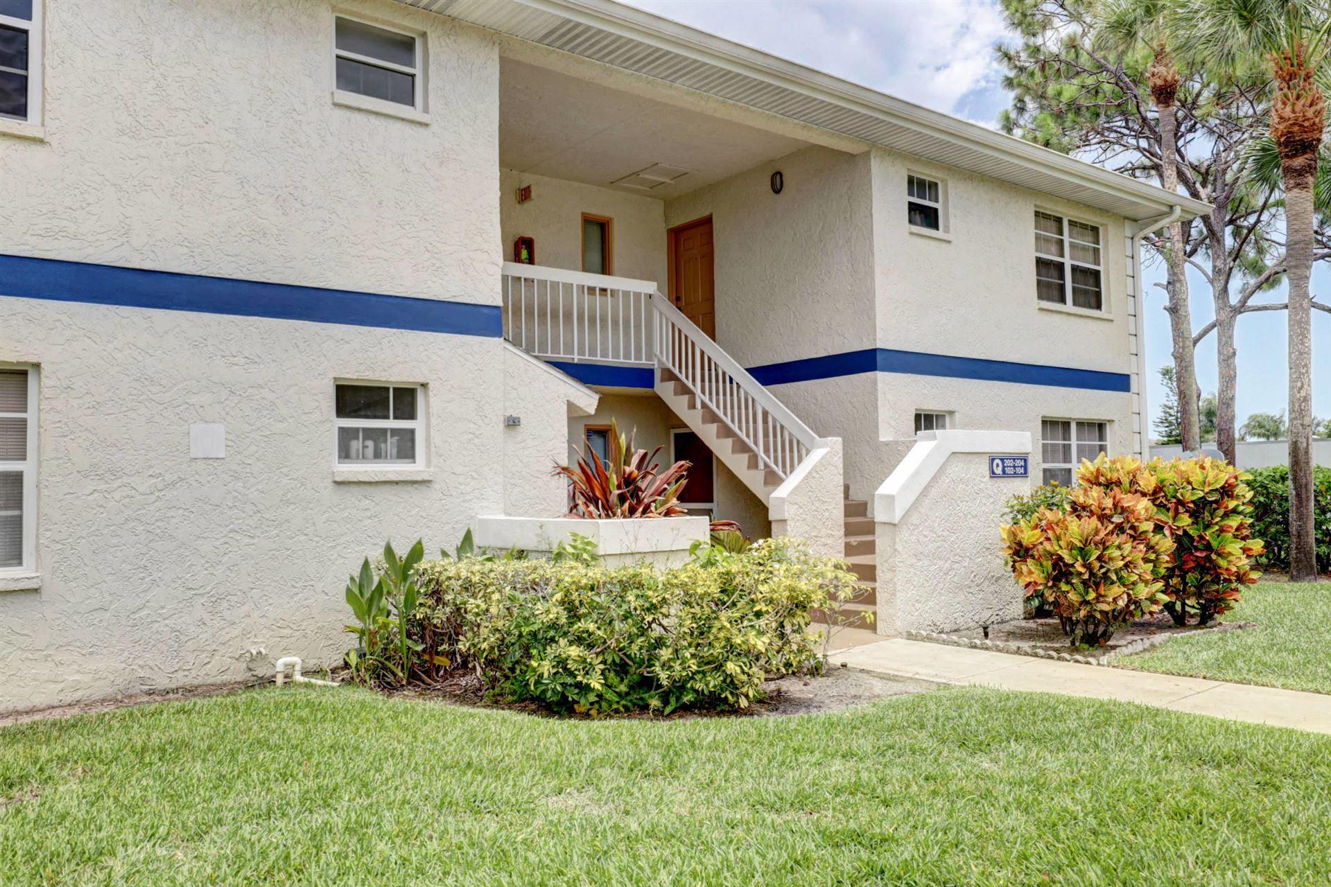 1524 SE Royal Green Circle #Q202, Port Saint Lucie, FL 34952 - #: RX-10641684