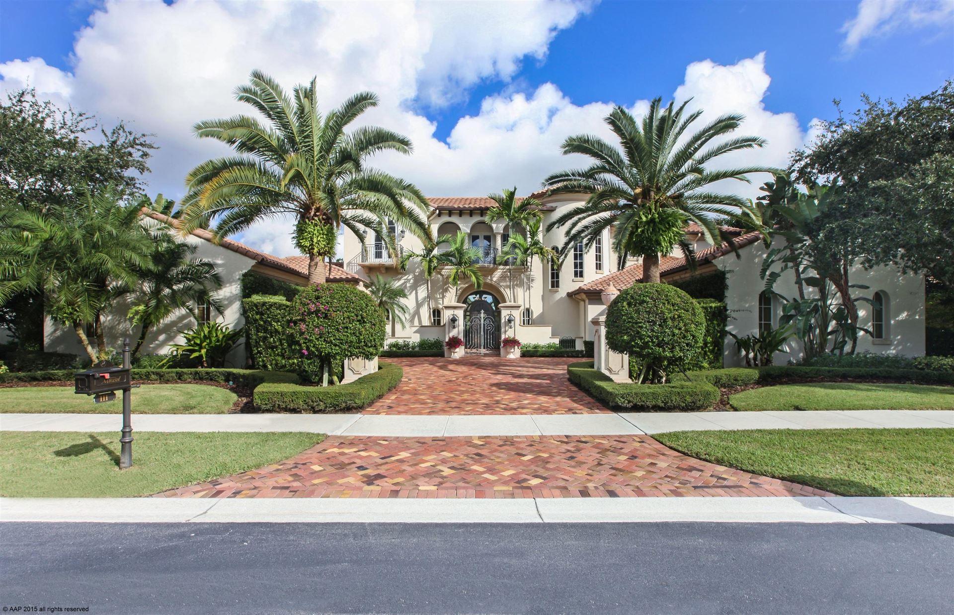 Photo of 111 Via Palacio, Palm Beach Gardens, FL 33418 (MLS # RX-10682684)