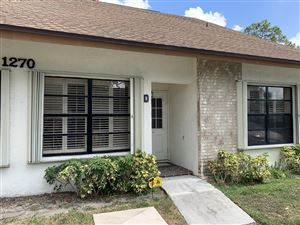 Photo of Listing MLS rx in 1270 Parkside Green Drive #D Greenacres FL 33415