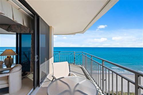 Photo of 3009 S Ocean Boulevard #601, Highland Beach, FL 33487 (MLS # RX-10686687)