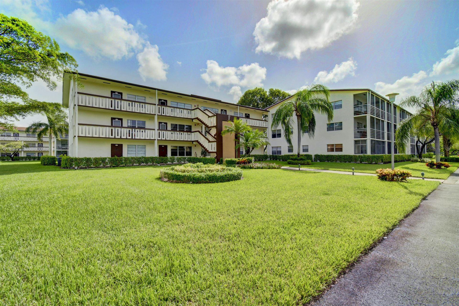212 Suffolk F, Boca Raton, FL 33434 - #: RX-10652687