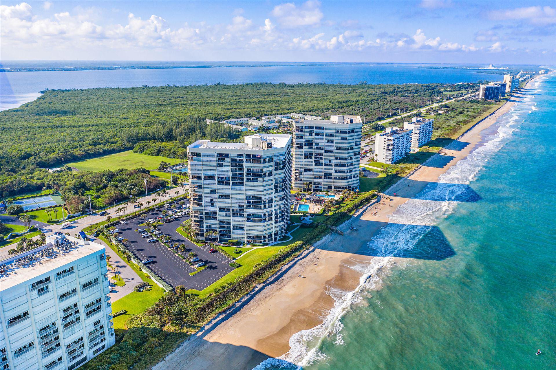 Photo of 9550 S Ocean Drive #1602, Jensen Beach, FL 34957 (MLS # RX-10671688)