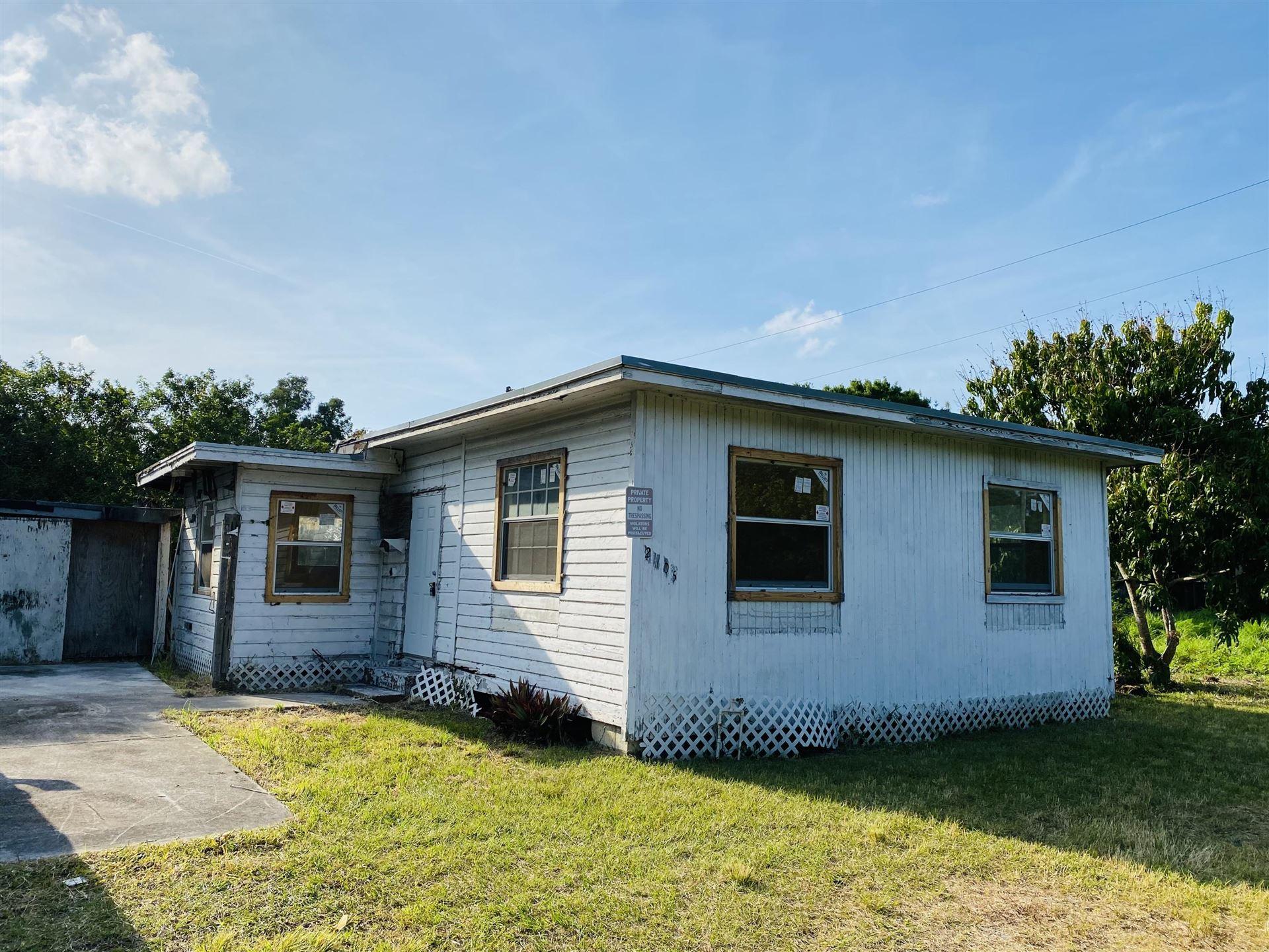 2805 S 25th Street, Fort Pierce, FL 34981 - MLS#: RX-10704688