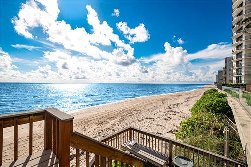 Photo of 5440 N Ocean Drive #601, Singer Island, FL 33404 (MLS # RX-10654689)