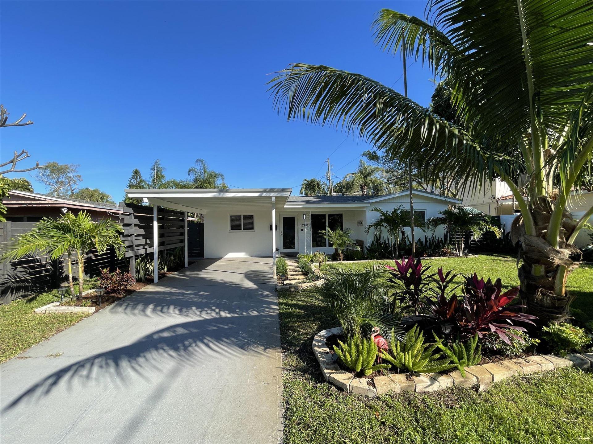1708 NE 9th Avenue, Fort Lauderdale, FL 33305 - #: RX-10676691
