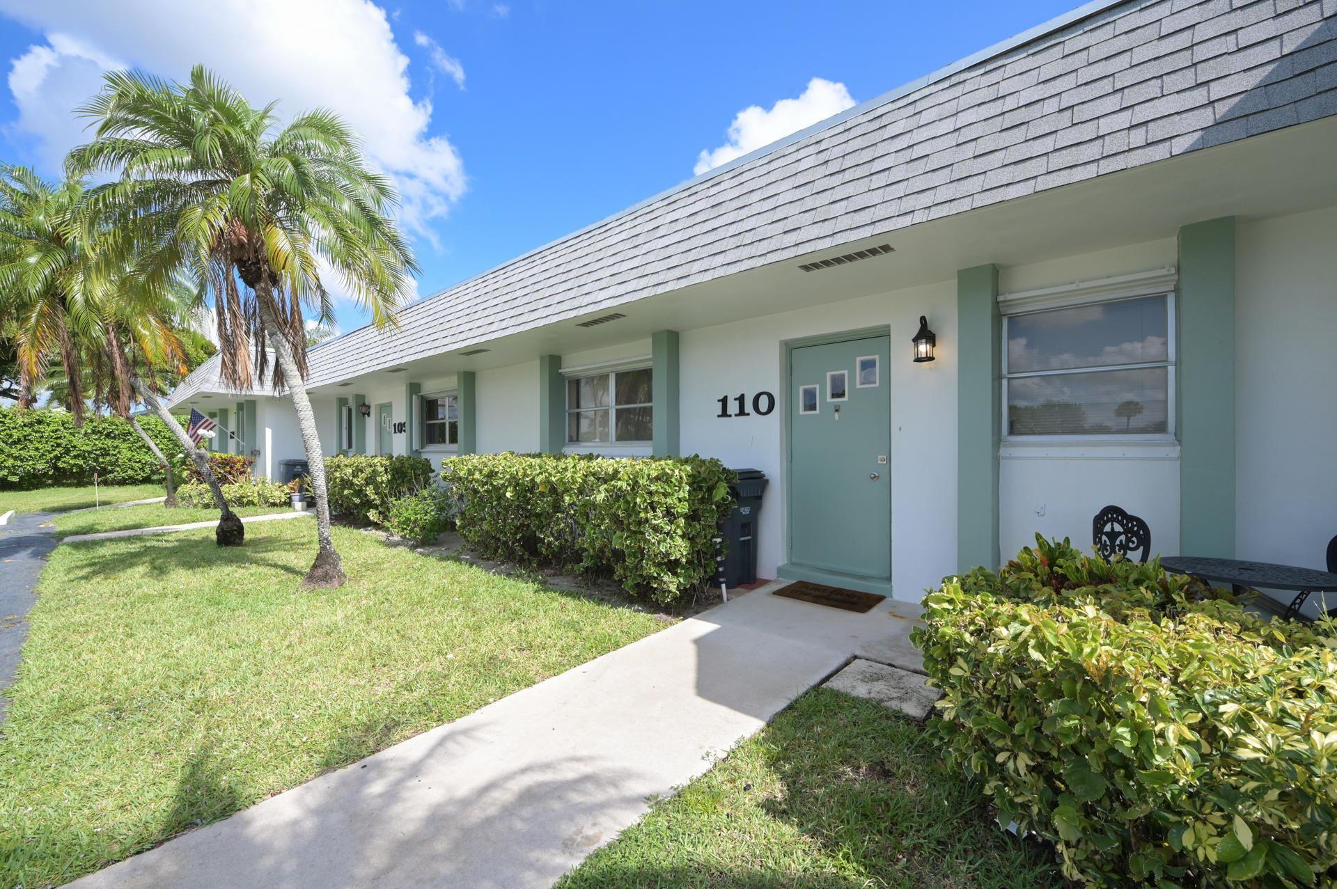 2638 Gately Drive E #110, West Palm Beach, FL 33415 - MLS#: RX-10715691