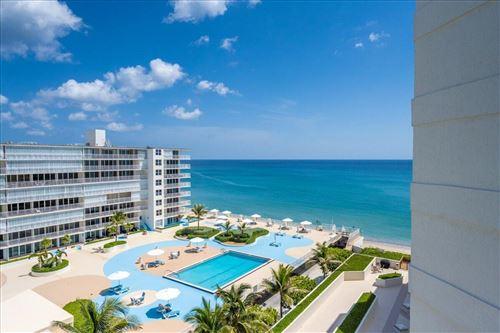 Photo of 3560 S Ocean Boulevard #806, South Palm Beach, FL 33480 (MLS # RX-10744693)