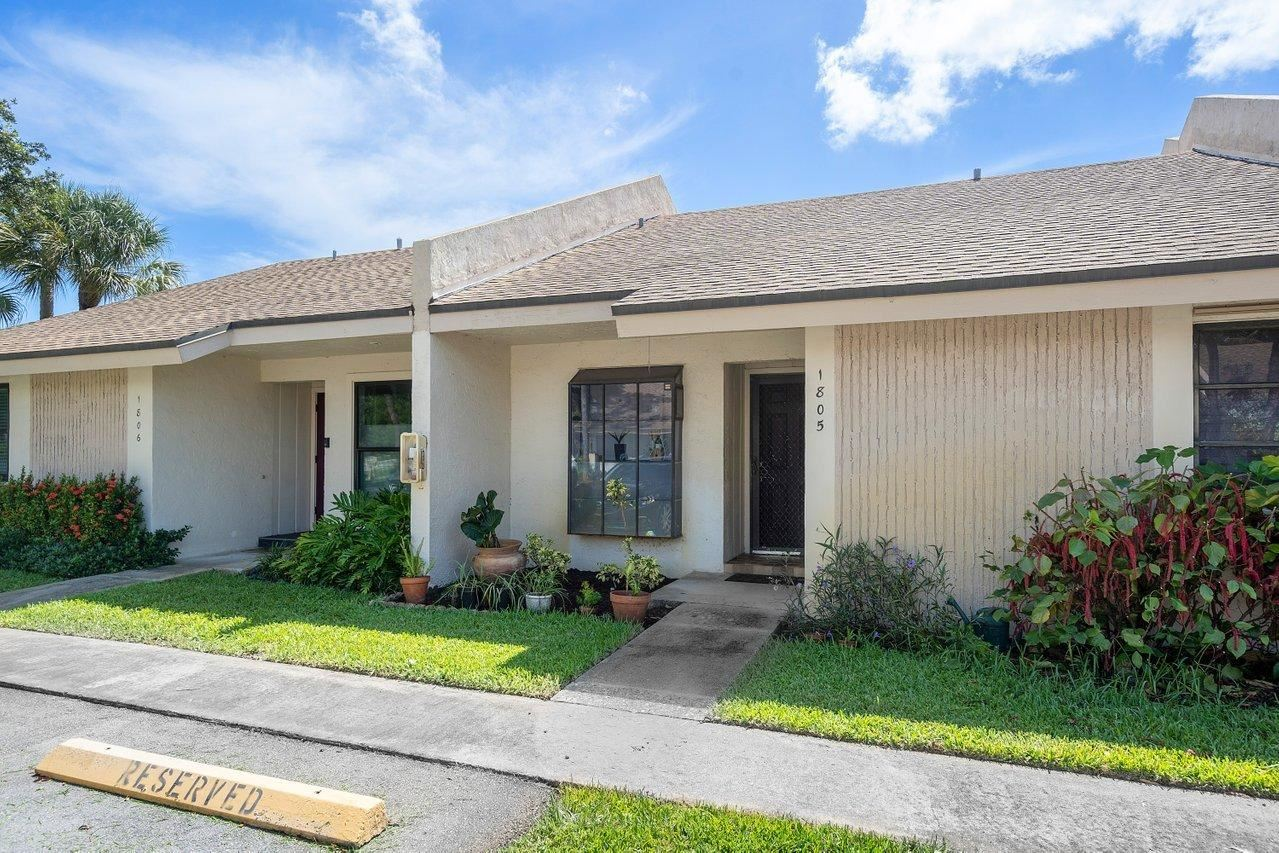 Photo of 2780 S Oakland Forest Drive #1805, Oakland Park, FL 33309 (MLS # RX-10733693)