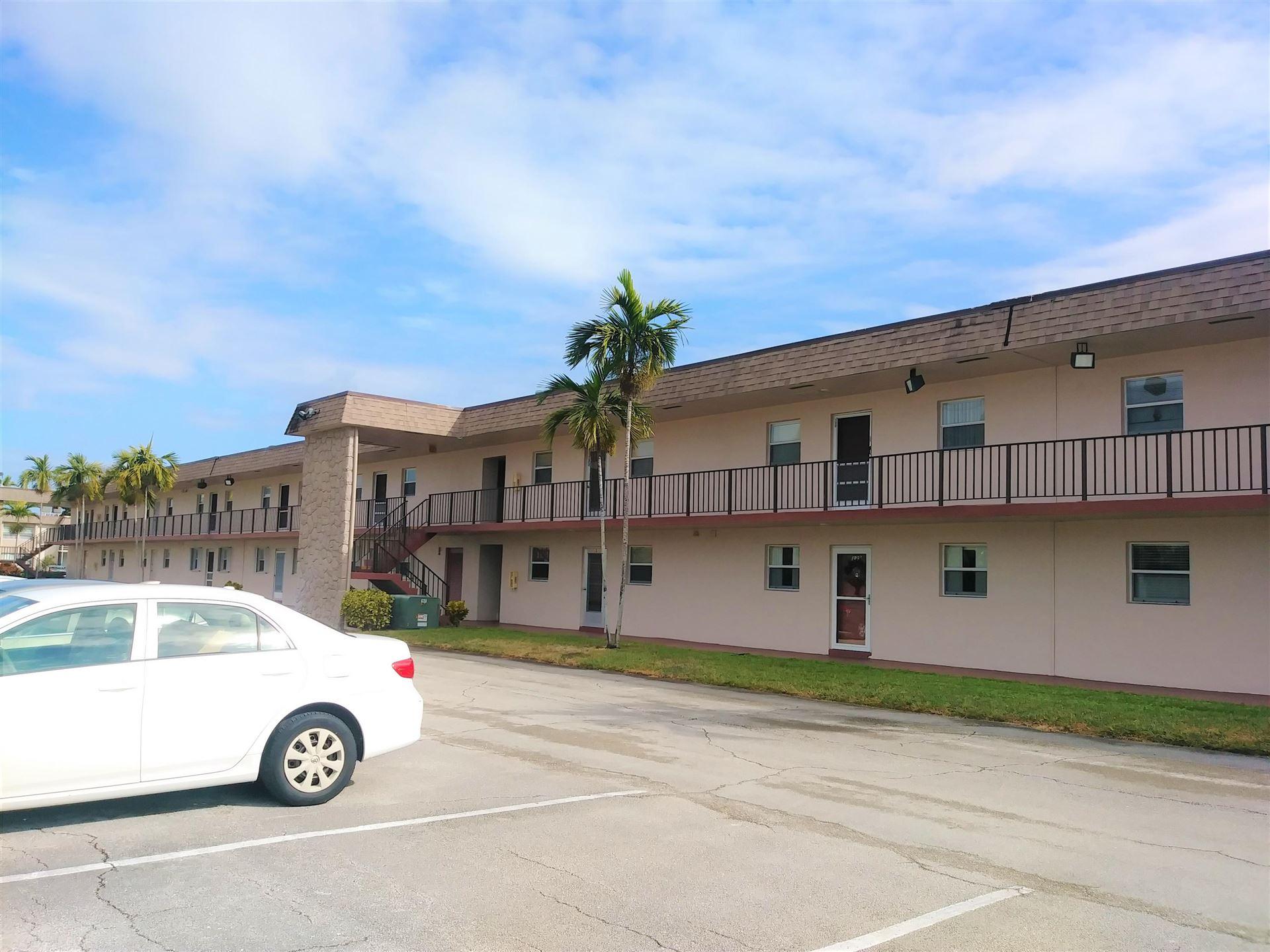Photo of 200 Bonnie Boulevard #130, Palm Springs, FL 33461 (MLS # RX-10683695)