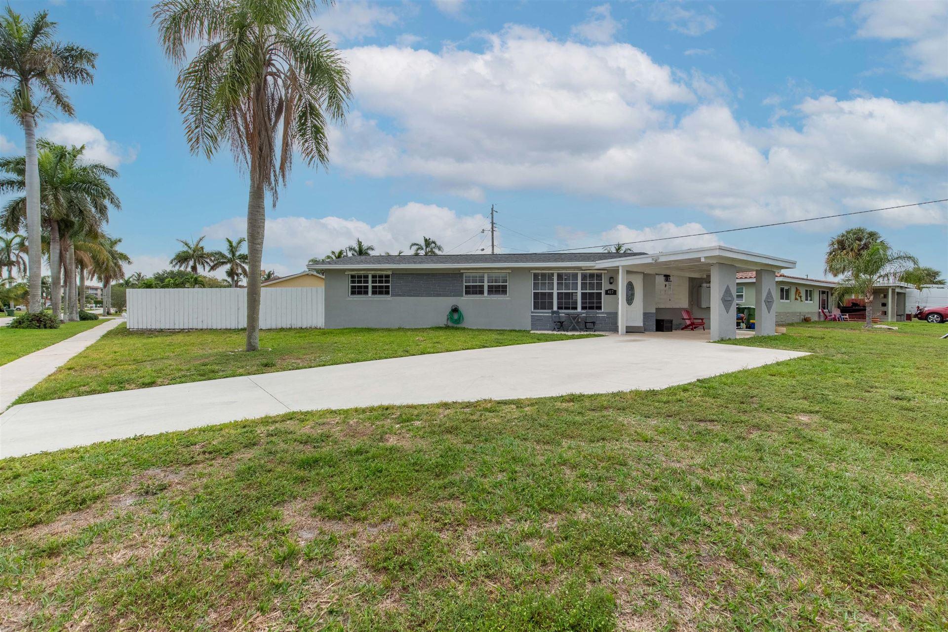 417 Los Altos Road, Palm Springs, FL 33461 - MLS#: RX-10710695