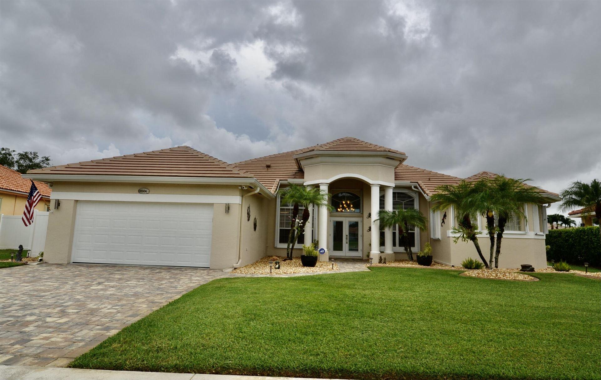 4506 Danielson Drive, Lake Worth, FL 33467 - MLS#: RX-10725696