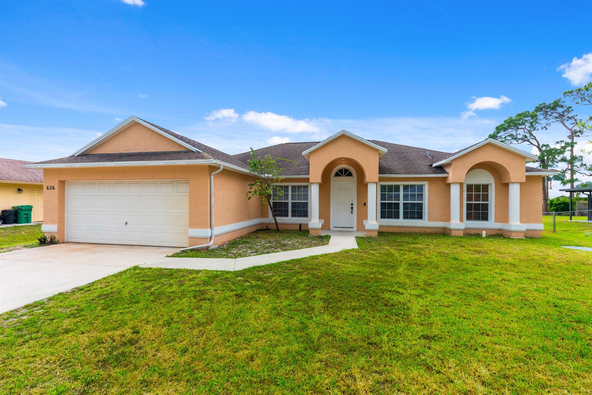 626 SE Ron Rico Terrace, Port Saint Lucie, FL 34983 - #: RX-10709697