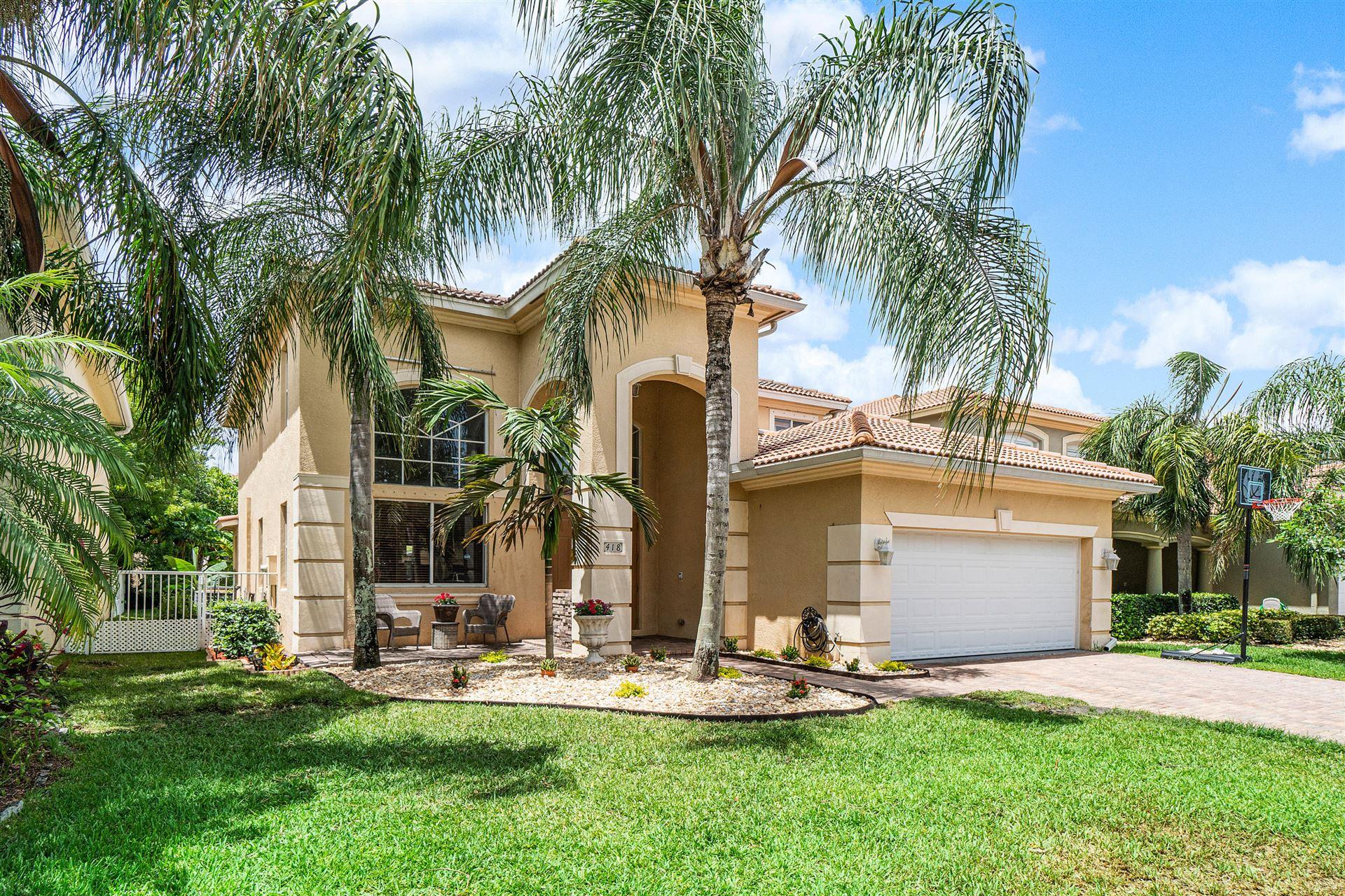 418 Gazetta Way, West Palm Beach, FL 33413 - MLS#: RX-10719697