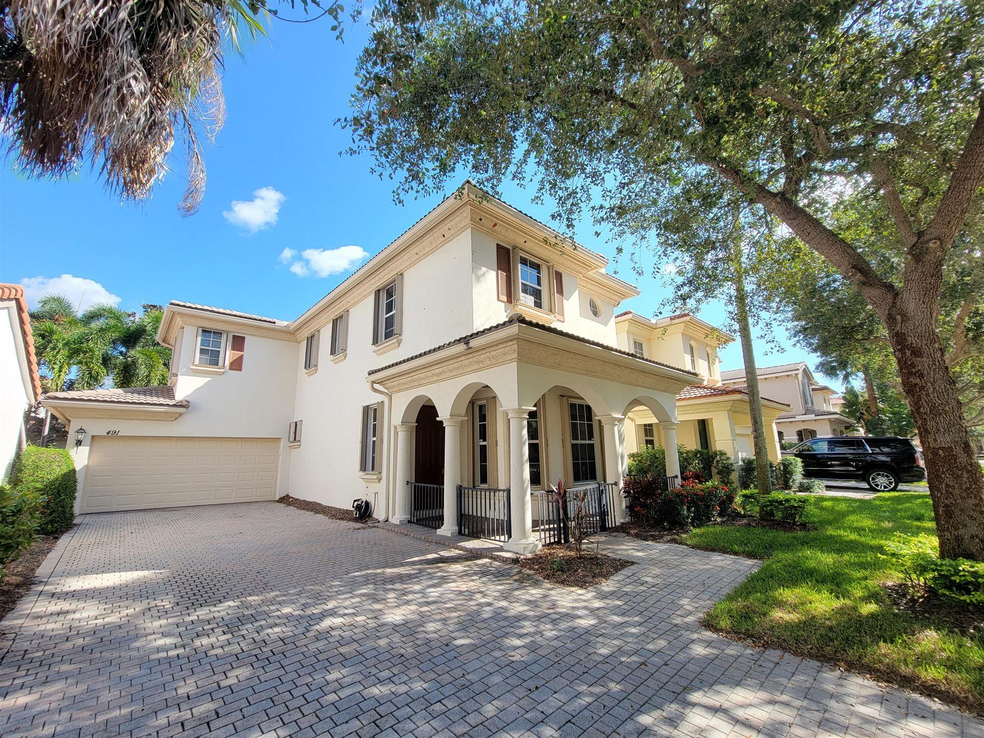 491 Leaf Drive, Palm Beach Gardens, FL 33410 - #: RX-10746697