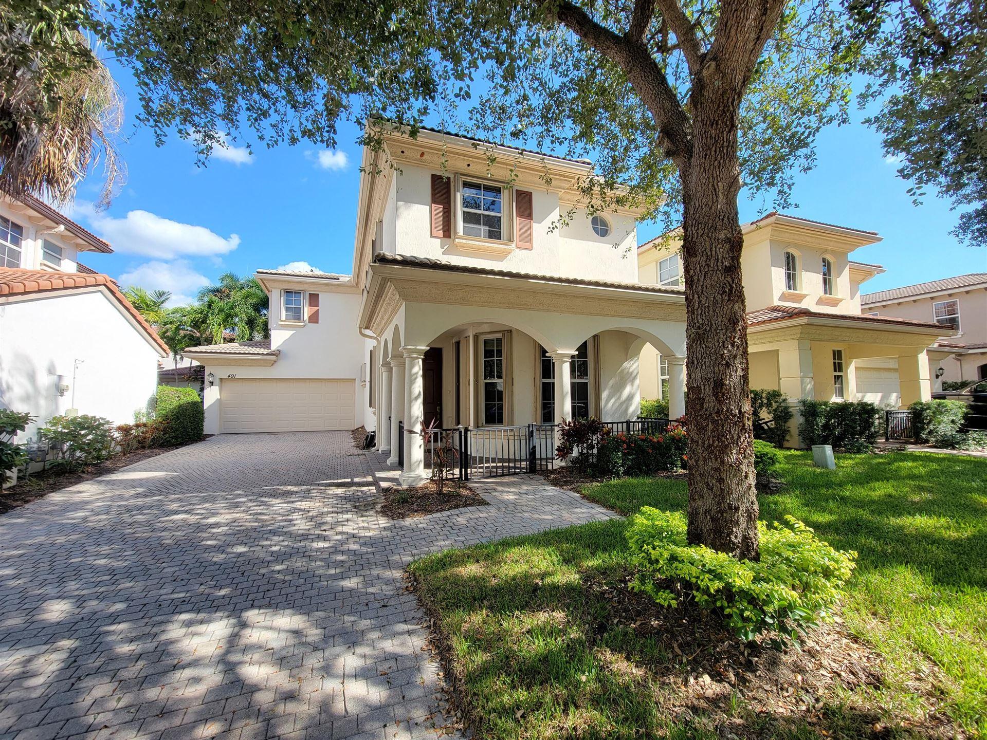 Photo of 491 Leaf Drive, Palm Beach Gardens, FL 33410 (MLS # RX-10746697)