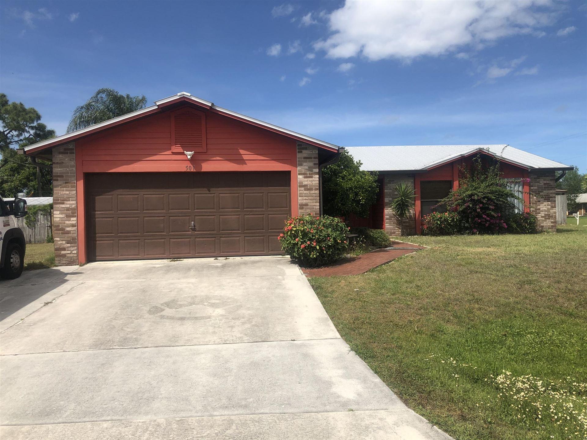 501 SW Violet Avenue, Port Saint Lucie, FL 34983 - #: RX-10703698