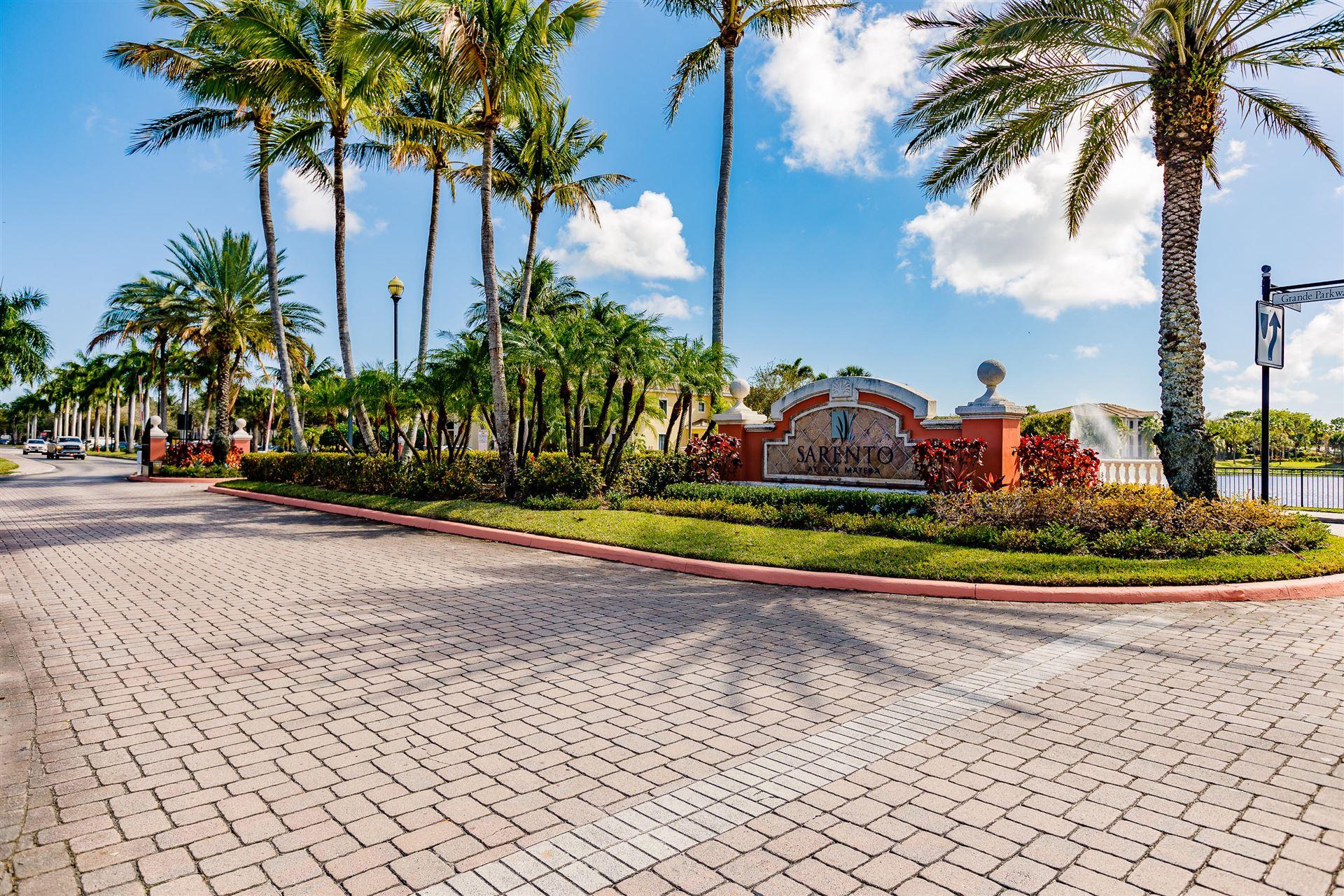 2802 Sarento Place #203, Palm Beach Gardens, FL 33410 - #: RX-10692699