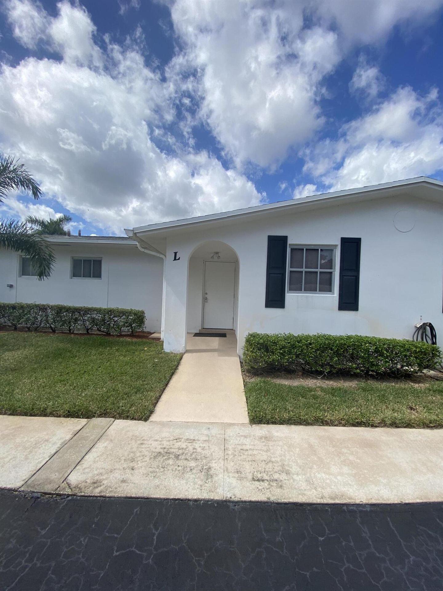 2920 E Crosley Drive #L, West Palm Beach, FL 33415 - #: RX-10753699