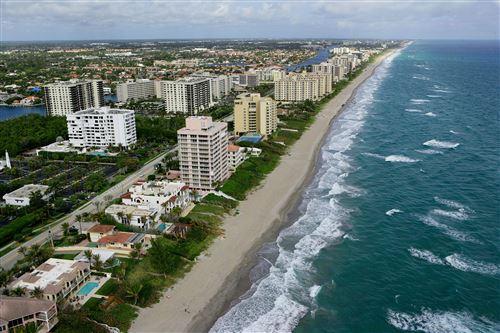 Photo of 3505 S Ocean Boulevard #Ph-N, Highland Beach, FL 33487 (MLS # RX-10694700)