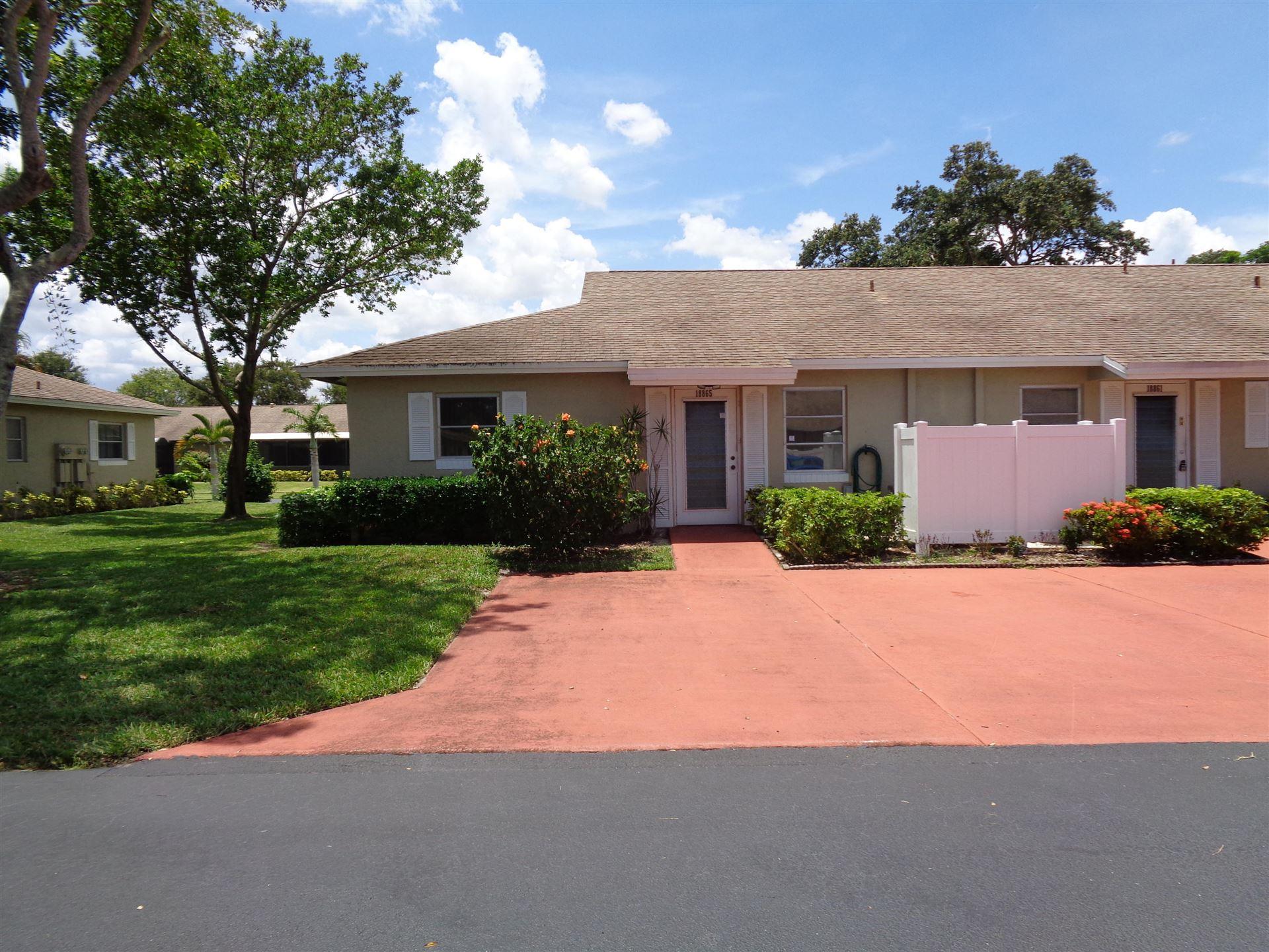 Photo of 18865 Argosy Drive #A, Boca Raton, FL 33496 (MLS # RX-10733700)