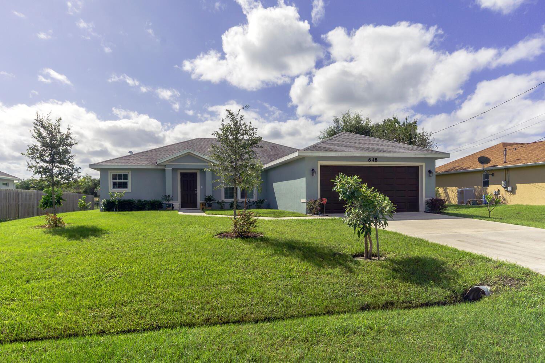 648 SW Abode Avenue, Port Saint Lucie, FL 34953 - #: RX-10669702