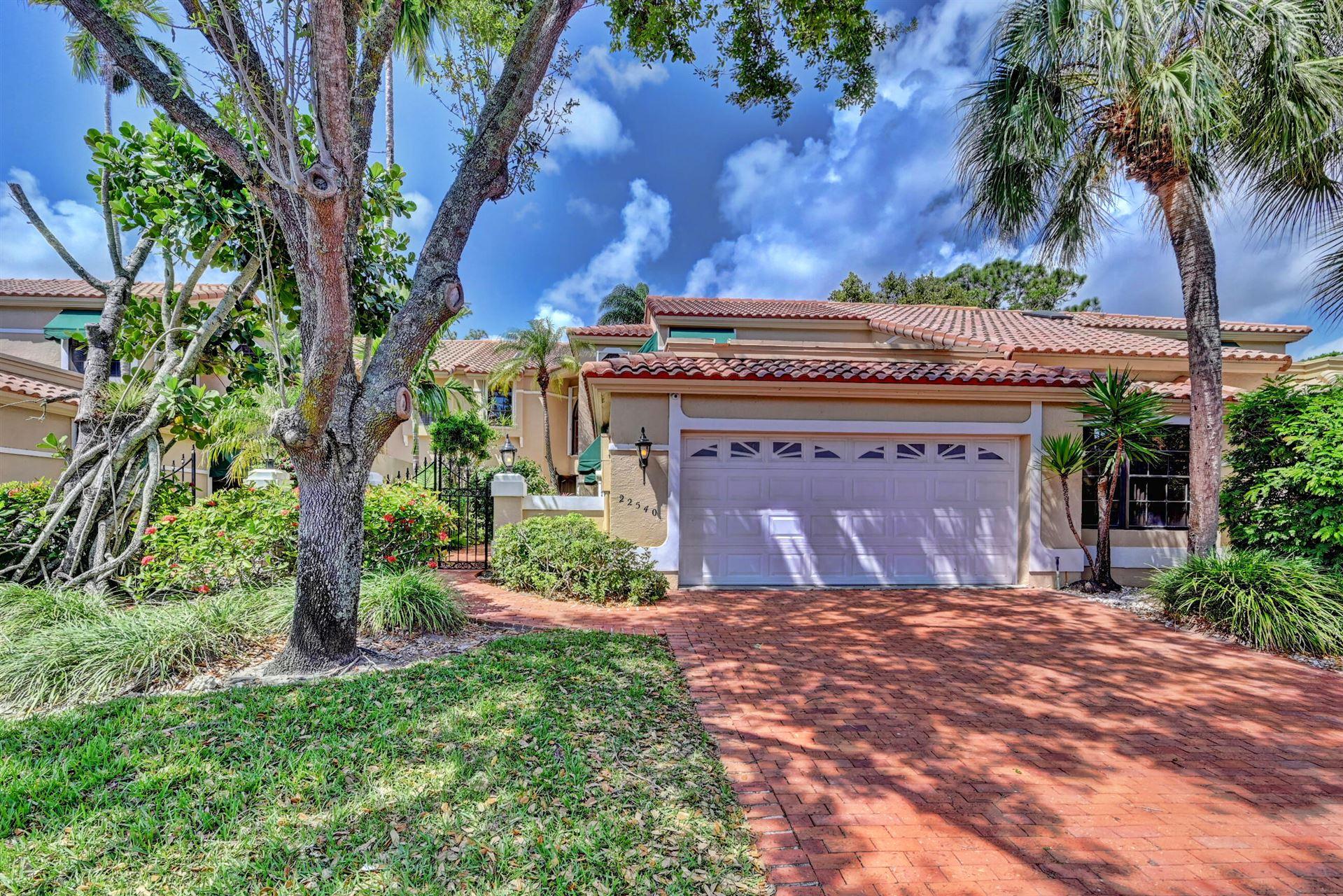 22540 Caravelle Circle, Boca Raton, FL 33433 - #: RX-10706702