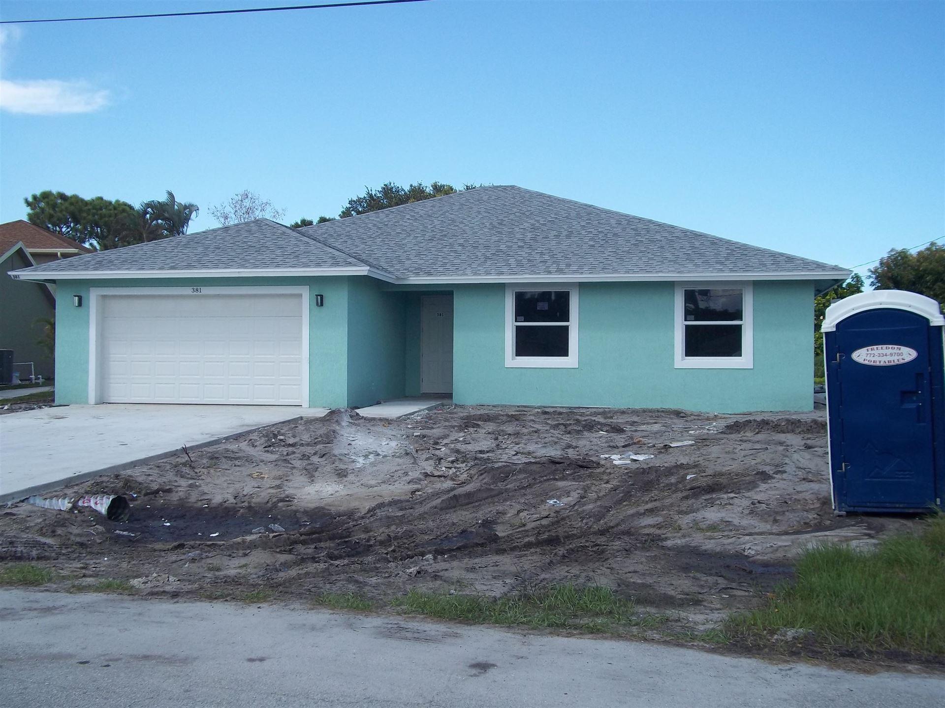 381 SW Log Drive, Port Saint Lucie, FL 34953 - #: RX-10739702