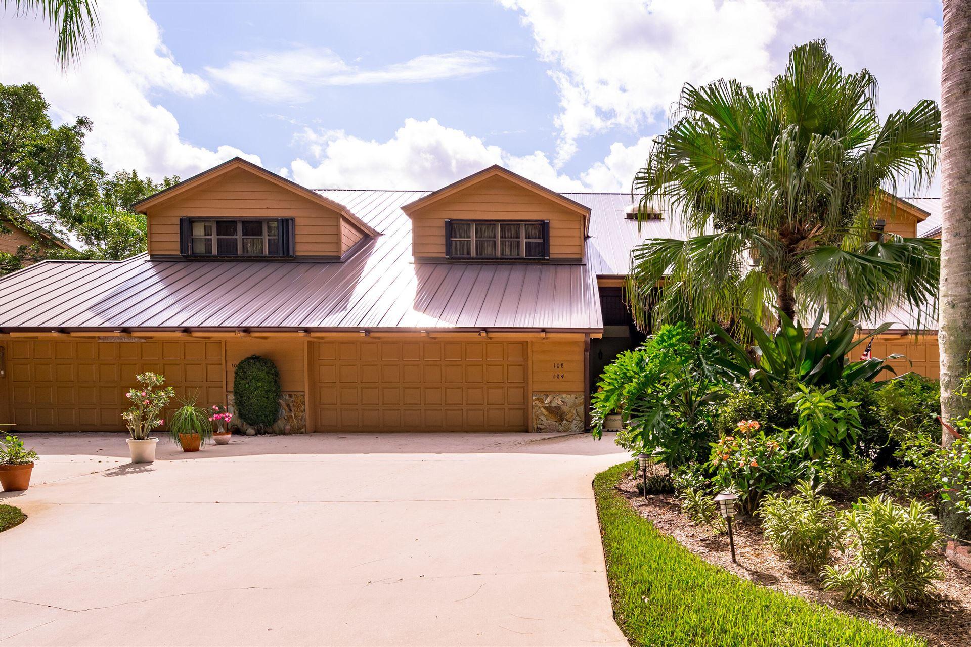 Photo of 108 SE Crestwood Circle #1-8, Stuart, FL 34997 (MLS # RX-10663703)