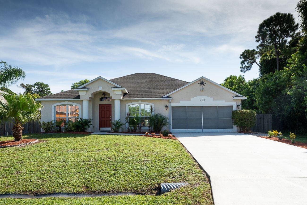 318 SW Ridgecrest Drive, Port Saint Lucie, FL 34953 - #: RX-10742705