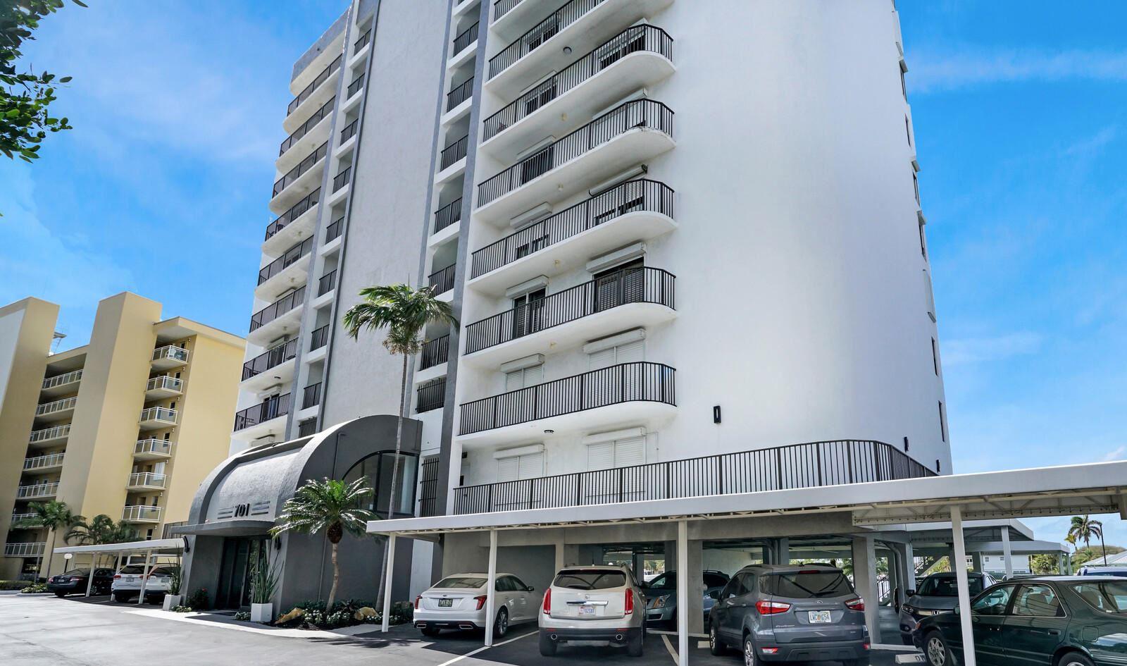 Photo of 701 N Riverside Drive #Ph1, Pompano Beach, FL 33062 (MLS # RX-10683706)
