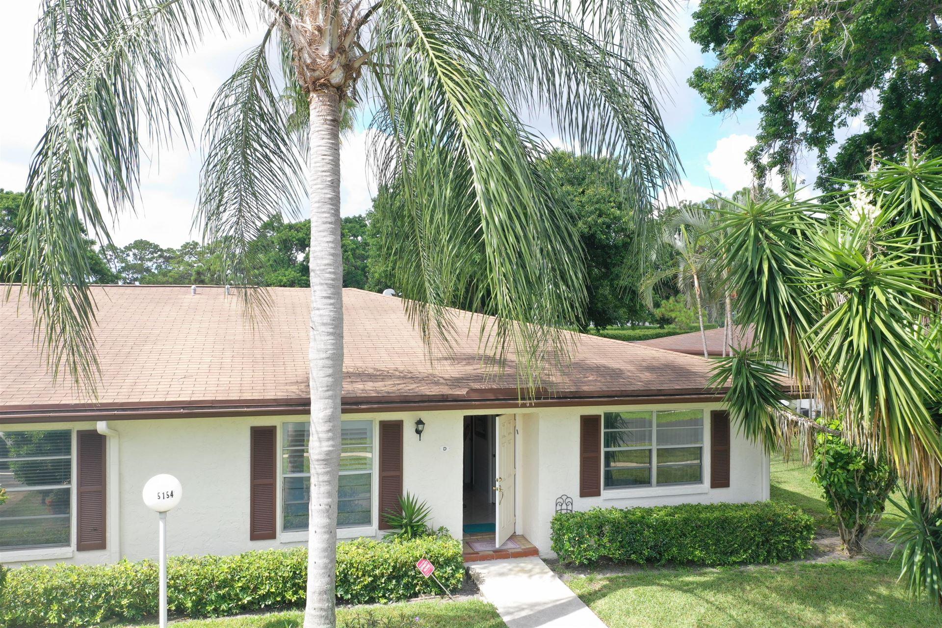 5154 Privet Place #D, Delray Beach, FL 33484 - #: RX-10639708